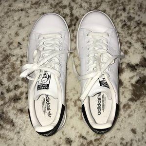 Women's Adidas Stan Smith White/Black Size 6.5